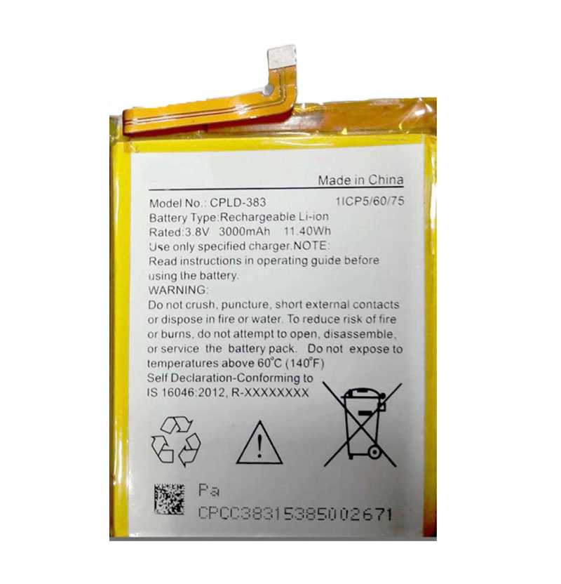 Mobile Battery for Coolpad Note 3 CPLD-383
